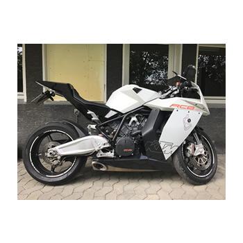 Beispiel Kundenvorlage Motorrad für Fotogravur