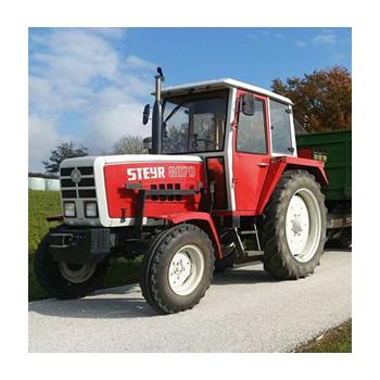 Beispiel Kundenvorlage Traktor für Fotogravur