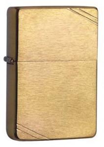 Zippo 1937er Vintage messing gebürstet